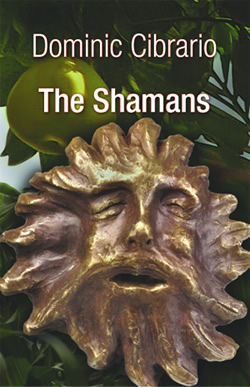 the cover of 'The Shamans'; art by Nick, cover designed by Jon Bolton